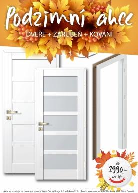 Interiérové dveře Vasco Doors Braga - zárubeň a klika zdarma