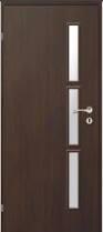 Interiérové dveře Invado Caprio ve fólii + zárubeň