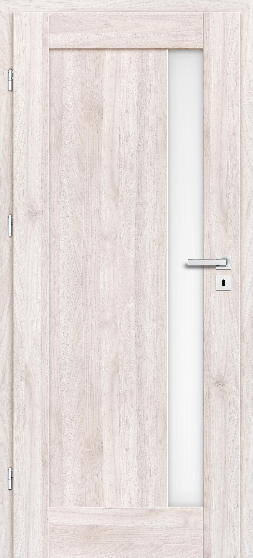 Interiérové dveře Erkado Frézie - s obkladem kovové zárubně a klika zdarma