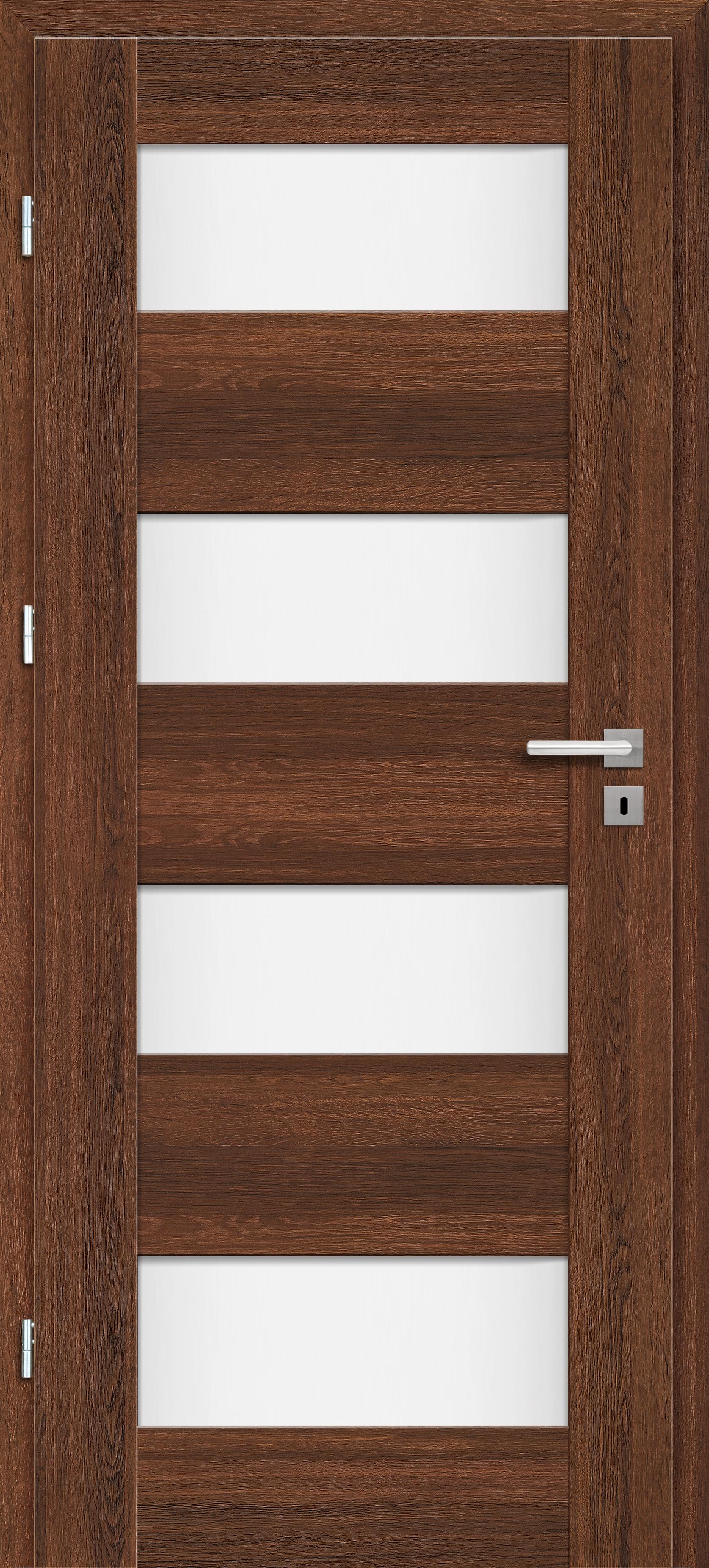 Interiérové dveře Erkado Debecie ve fólii - s obkladem kovové zárubně
